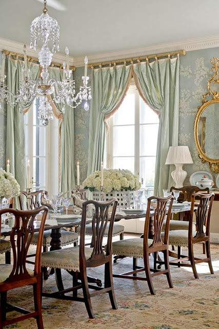 ... Chippendale Dining Room . What\u0027s My Style? Traditional Interior Design  | Rachel Rossi