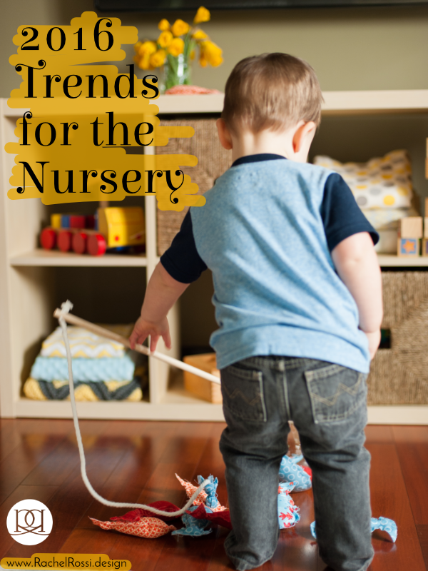 All of the latests trends for baby nursery in 2016!
