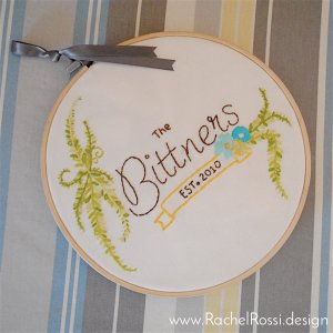 Family Embroidery Hoop