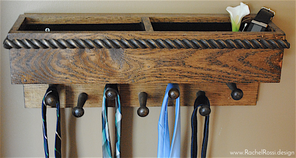 How to Make a Tie Rack