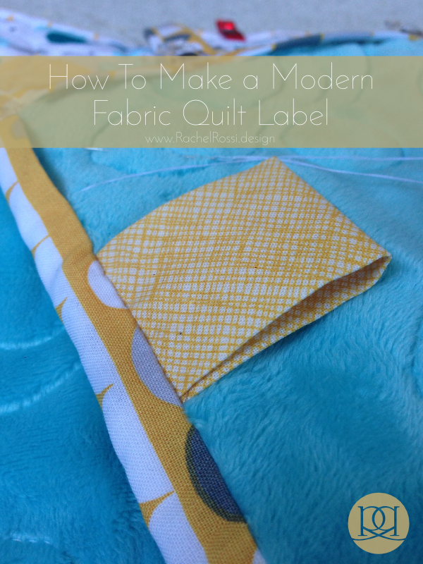 My favorite way to label a quilt tag quilt labels for Create fabric labels
