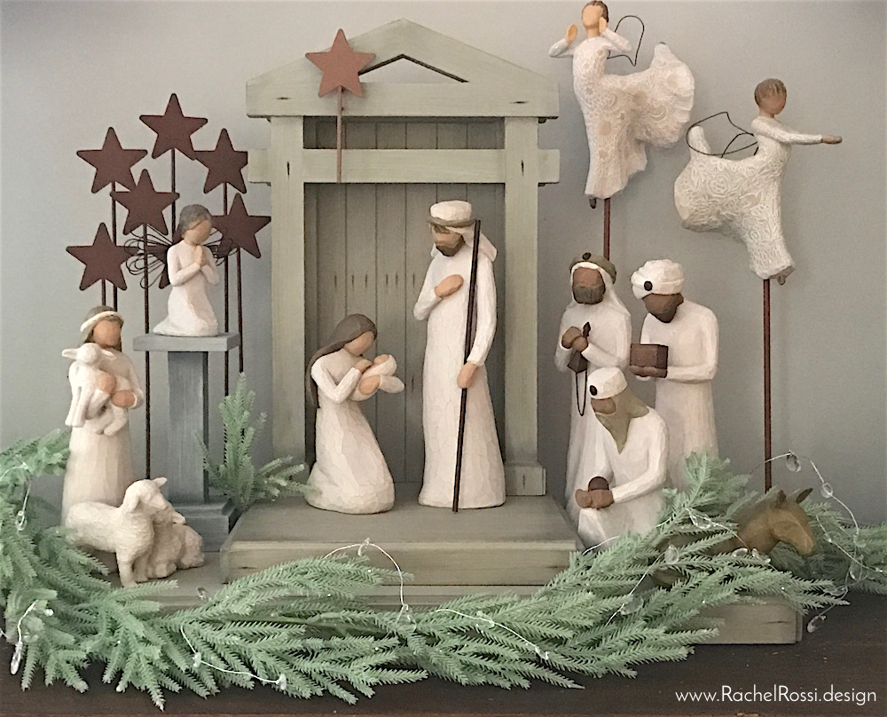 setting-up-willow-tree-nativity-set