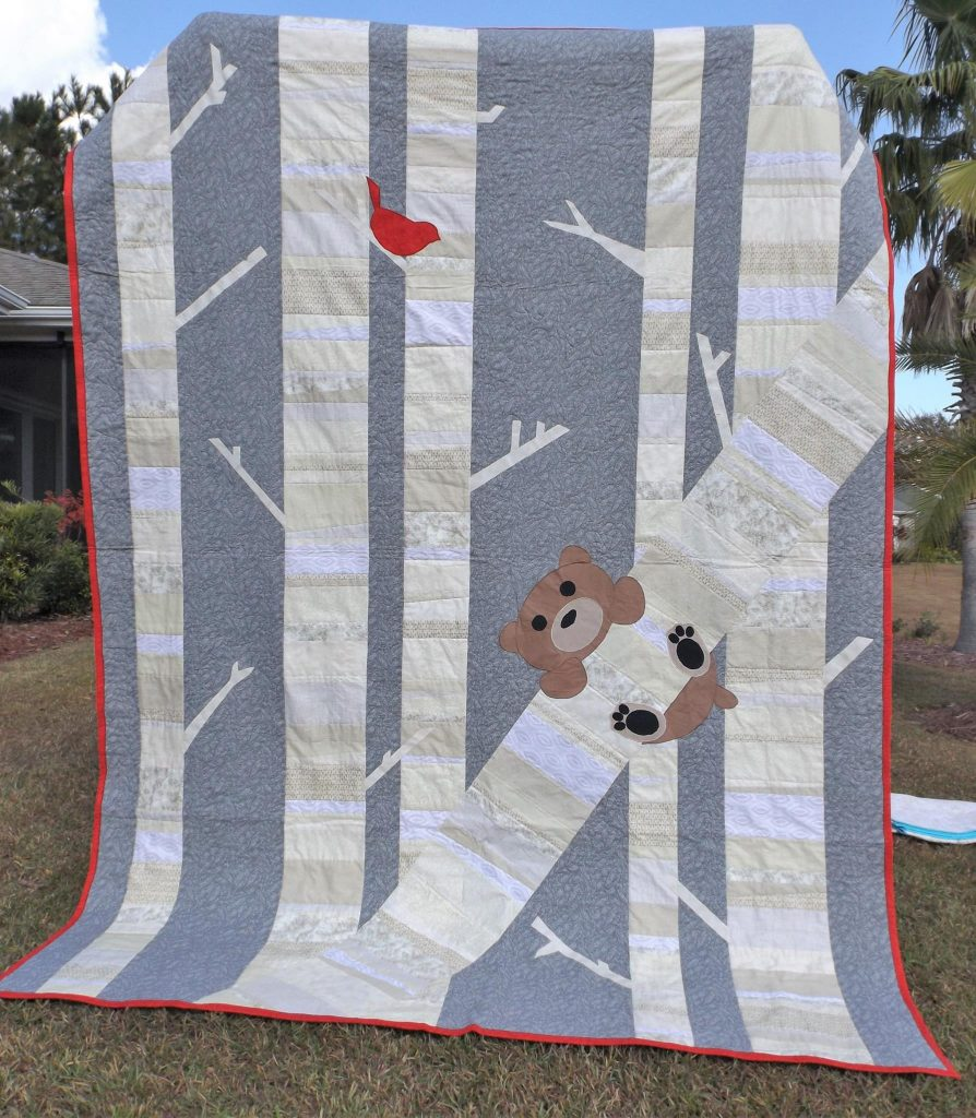 Birch tree quilt pattern