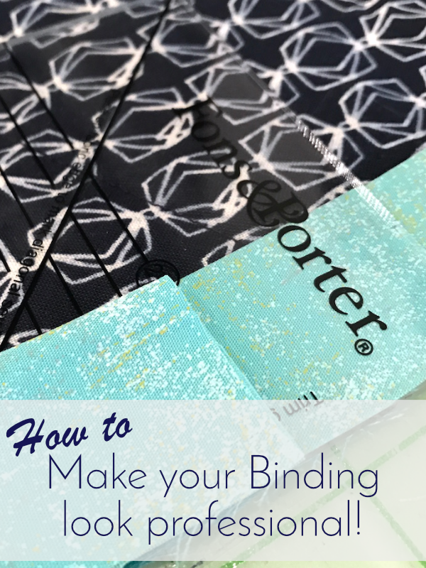 How to Make Your Binding Look Professional Tutorial