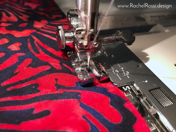 How to sew a quilt sleeve