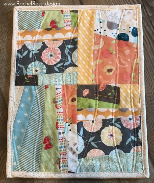 Scrappy Baby Doll Quilt Tutorial