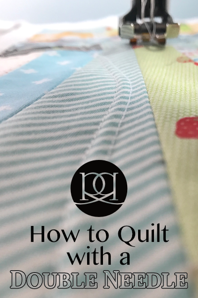 How to quilt with a double needle