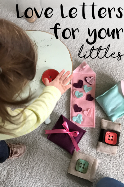 The perfect little gift for babies on Valentines Day! DIY in under an hour, using what you have at home.