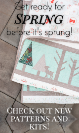 Find New Spring Quilting Patterns