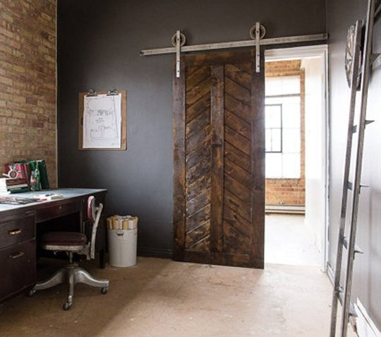 What 39 s my style industrial interior design rachel rossi - Industrial look office interior design ...