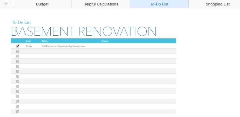 Basment Remodel Budget Calculator