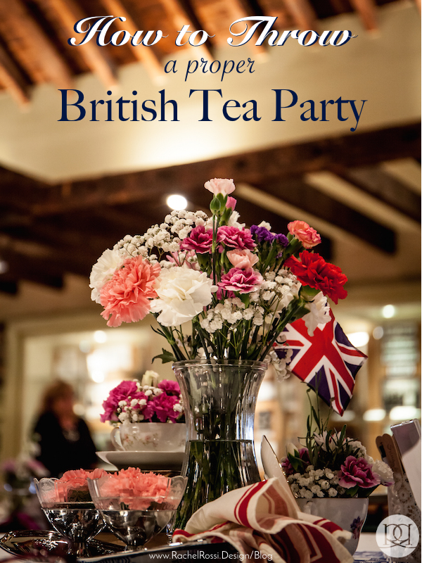 great details on how to throw a proper british tea party perfect for a bridal