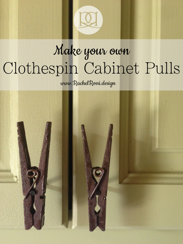 Ordinaire A DIY Tutorial On How Make Clothespin Cabinet Door Pulls. Save A Lot Of Cash