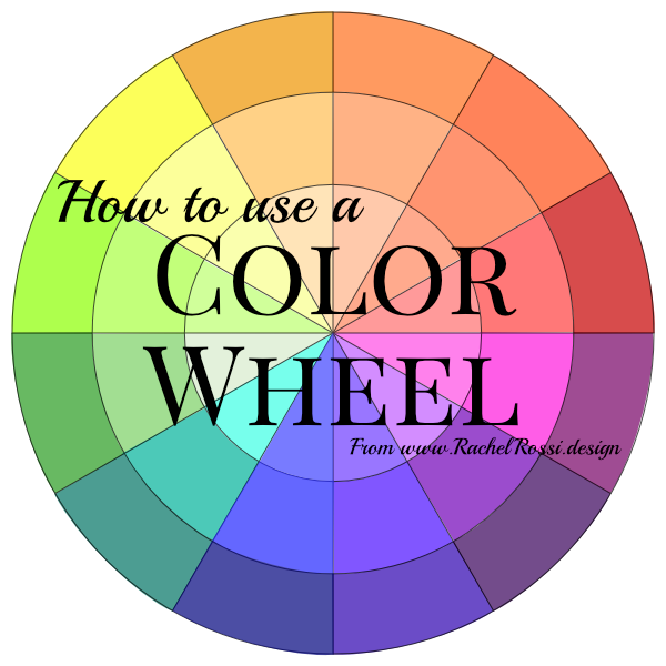 A full tutorial on how to use a color wheel with pictures of the color schemes used in real life!