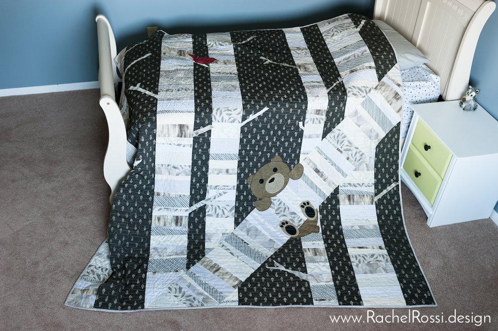 Timber Baby Quilt Kit Rachel Rossi