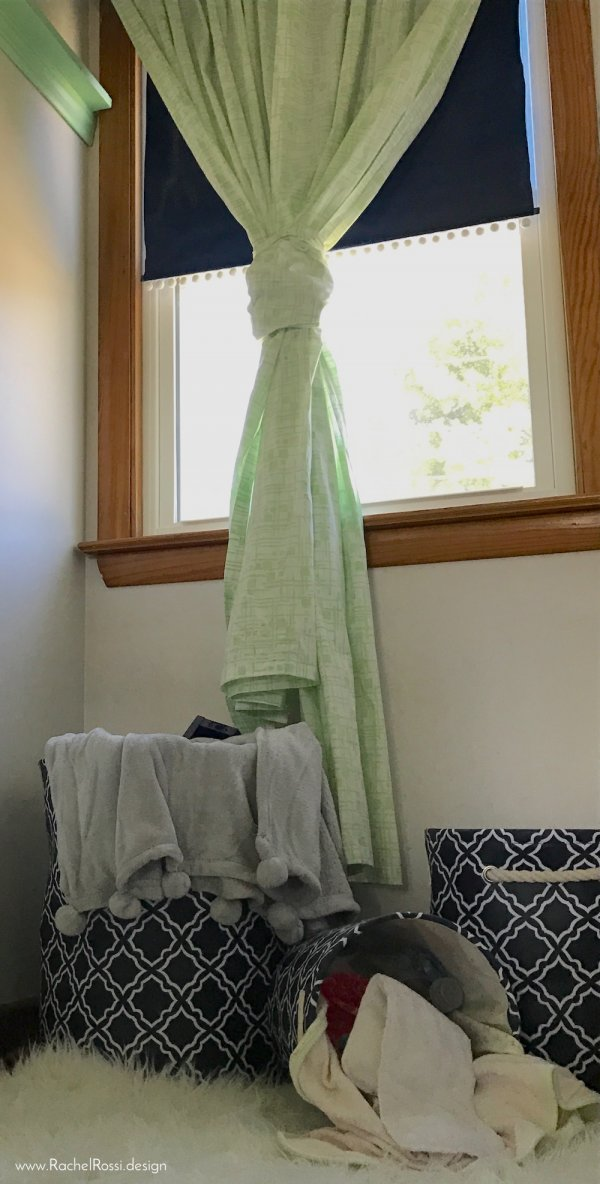 How To Shorten Long Curtains Without Cutting And Sewing