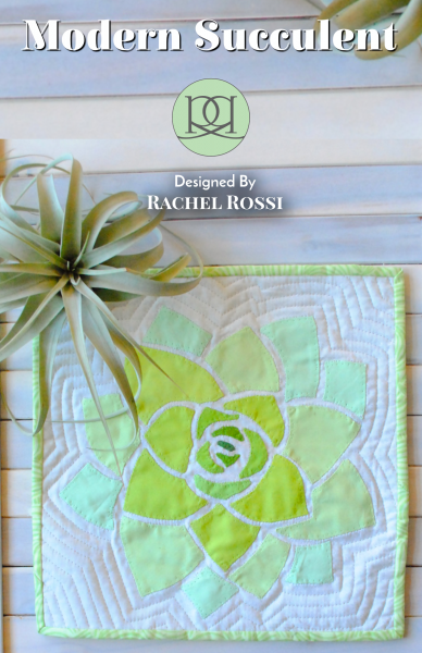 modern succulent cover