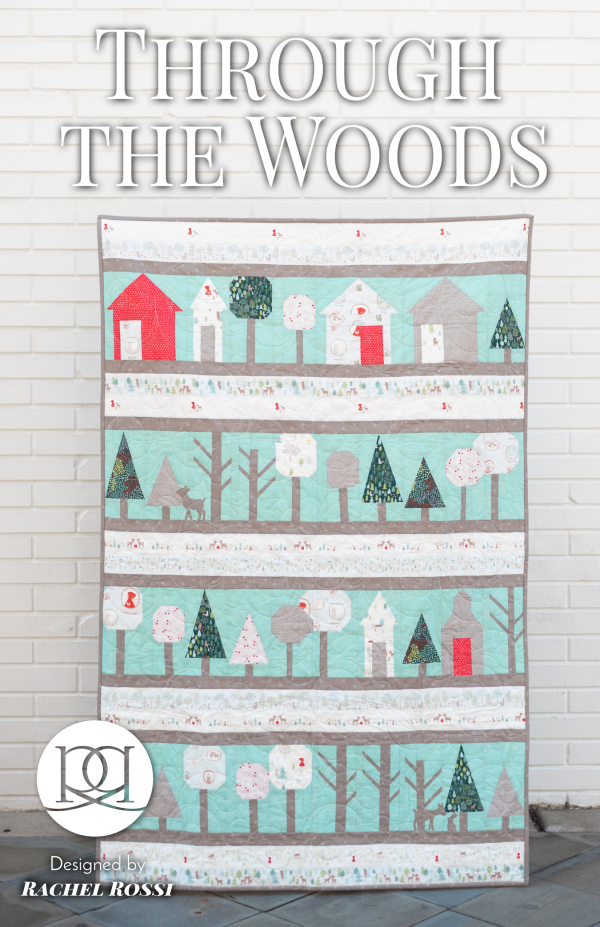 Through the Woods Paper Pieced Quilt