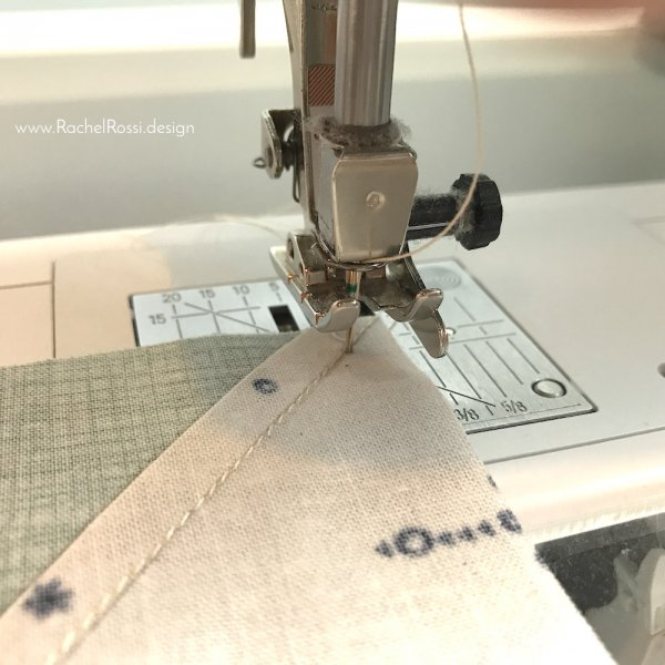 Reducing bulk in pinwheel seams